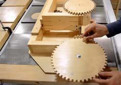 台锯开榫 木工加工开榫