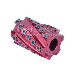 木工机械行业的螺旋刀头与平刀头区别及优势
