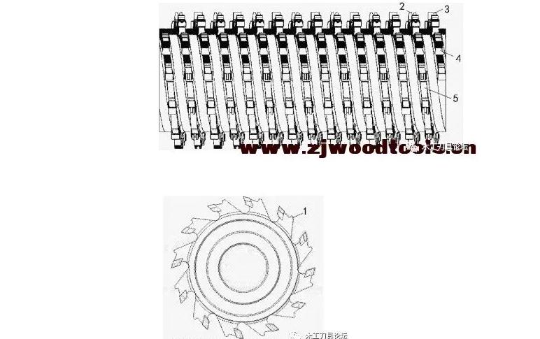 木工螺旋刀具专利:一种焊接式硬质合金螺旋平口刀具