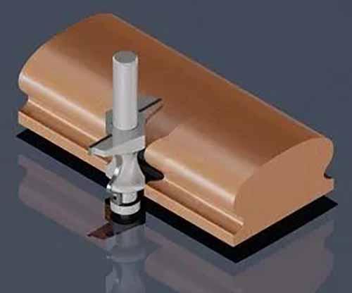 刀具装夹的长度与让刀量之间的关系