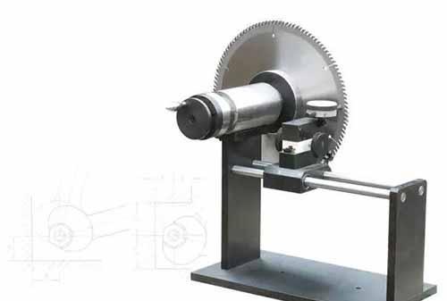 木工圆锯片基体的检测指标和方法