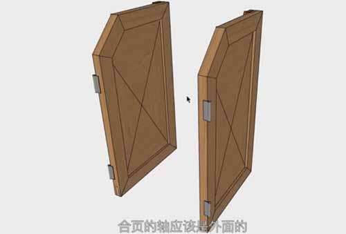 44届世界技能大赛家具木工项目竞赛试题 3 门的制作安装和最后定妆照