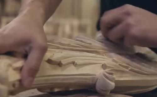 豪华古典家具的手工制造, 你家有吗?