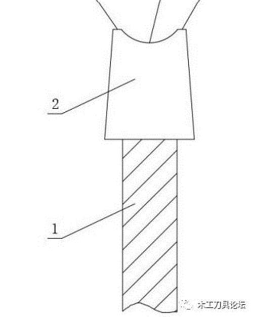 木工锯片专利资讯:一种内凹U型齿电子划线锯