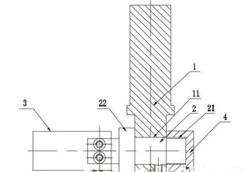 木工刀具制造工装夹具专利资讯:一种旋转式斜刃成型刀焊接工装
