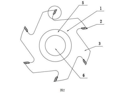 木工成型刀专利信息:一种小齿距错齿平口刀