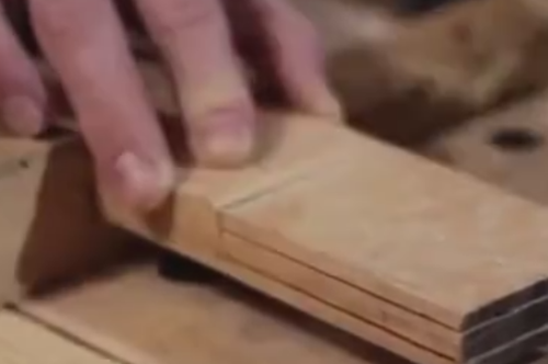 顶级木工技术, 纯手工打造, 成品叫人眼前一亮!