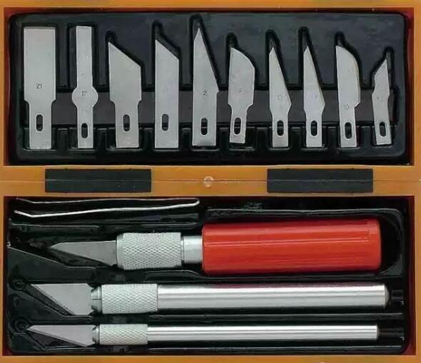 雕刻刀的种类有很多,来看传统雕刻刀具应用知识