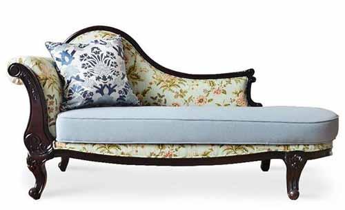 家具设计图纸 古典型贵妃椅CAD家具图纸