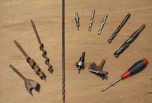 木工常用钻孔工具