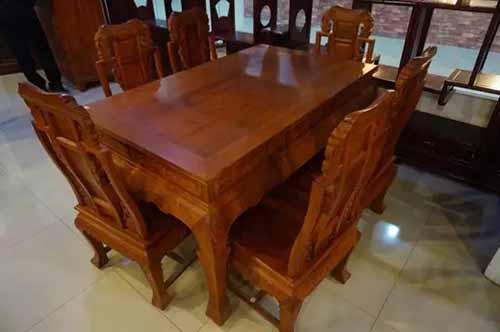 市场上大部分红木家具是上漆的?